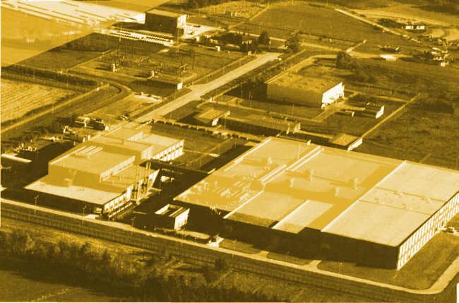 Bild von der Urananreicherungsanlage in Gronau