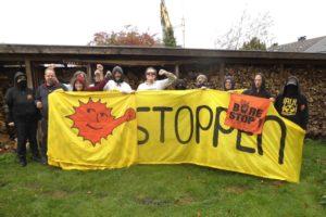 Solidarität aus Münster mit dem Widerstand in Bure