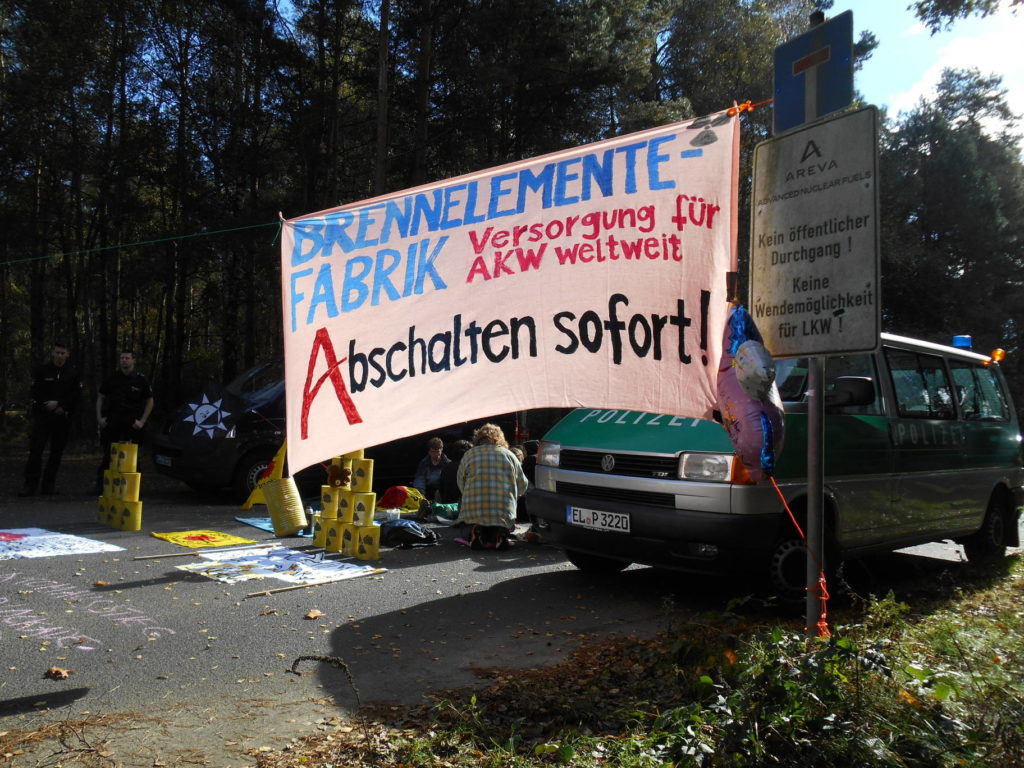 Protest in Lingen, 2014