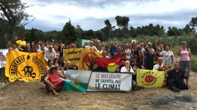 Internationales Anti-Atom-Camp 2018 in Narbonne