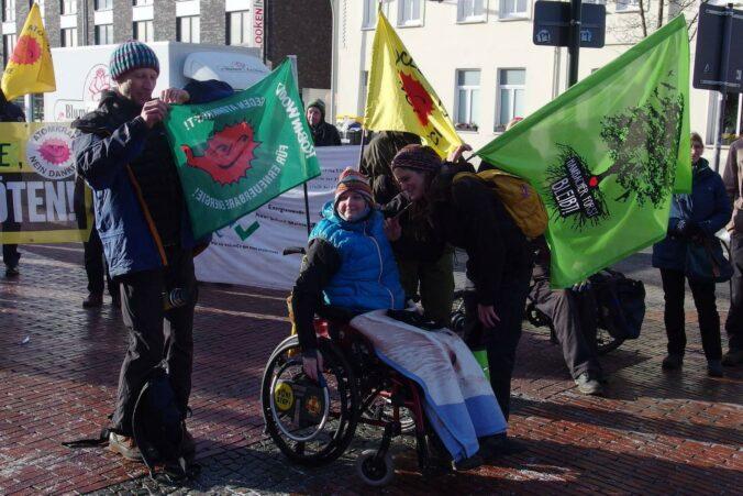 Demo gegen die Brennelementefabrik Lingen, Januar 2019